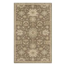 Perfect Surya   Surya Caesar 6u0027x9u0027 Hand Tufted Wool Rug, Neutral   Area