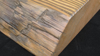 Douglas Fir Reclaimed Telephone Pole Countertops