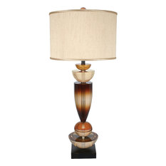 Walk on by Table Lamp, Bronze