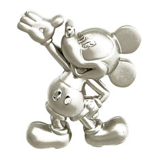Nickel Mickey Mouse Drawer Knob