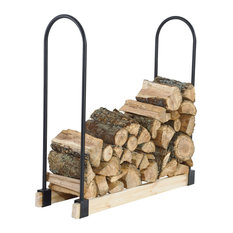Pleasant Hearth LS932B Outdoor Adjustable Log Storage System For Customized Fir