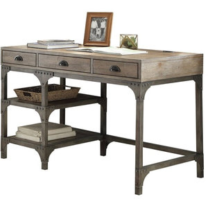 Fabulous Artisan Revival Sit And Stand Desk Industrial Desks And Interior Design Ideas Clesiryabchikinfo