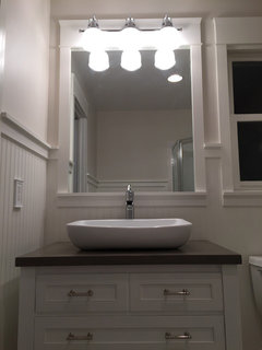 Bathroom Light Not Bright Enough which white trim color goes with benjamin moore windham cream?