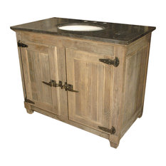 "42"" Reclaimed Elm Single Bath Vanity"