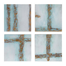 Cross Roads Contemporary Art, Set of 4