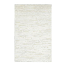 Cheyenne, Contemporary Modern Hand-Knotted Area Rug, Ivory
