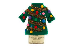 Green Ugly Sweater Bottle Cover
