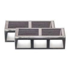 SUNSTEP Solar Steel Step, 2 Pack, Large