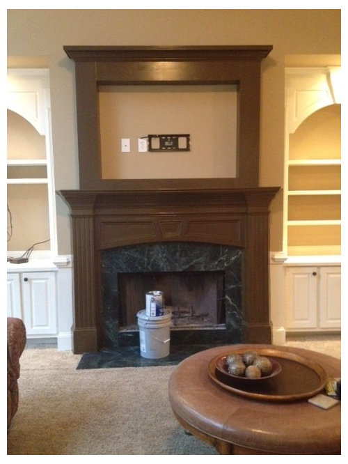 Help For Marble Fireplace Surround, Can You Tile Over A Marble Fireplace Surround