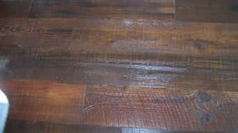 Antique Heart Pine Flooring at Watersound on the Florida Panhandle