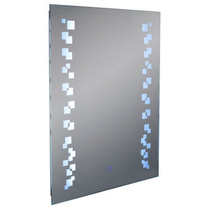 Grafik LED 80x60 cm Wall Mirror With Demister and Dimmer