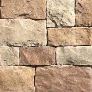 Hackett Stone, Desert Sand - Rustic - Siding And Stone
