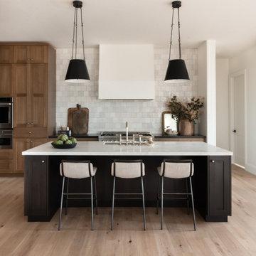 Dream Kitchen Design with White Oak Cabinets