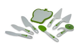 Curious Chef 8-Piece Cutlery and Serving Set
