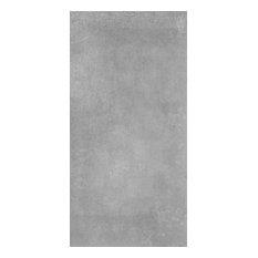 Trax Matte Tiles, 397x797 mm, 1 m2, Lake Grey