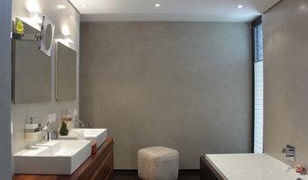 Badezimmer mit Marmorputz