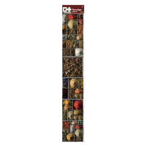 Spices Wall Panels, 15x15 cm, Set of 18