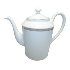 White Porcelain Coffee Pot