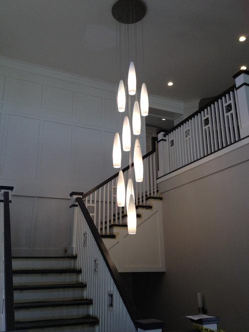 Large Stairway Chandelier
