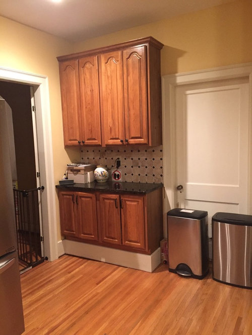 Wall Cabinet Depth Problem In Kitchen Remodel
