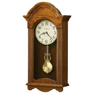 Jayla Wall Clock With Legacy Oak Finish