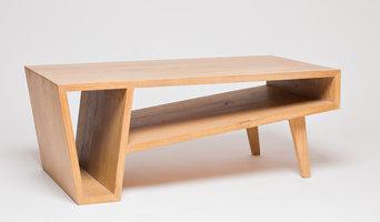 "Table Basse en chêne massif ""Root"""