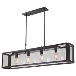 Industrial Kitchen Island Lighting by Buildcom