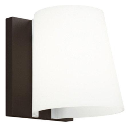 Tech lighting konial 5 led outdoor wall diffuser lens bronze 3000k 120v