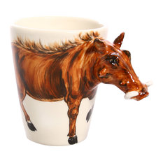 Wild Boar 3D Ceramic Mug