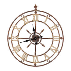 Iron Frame Wall Clock