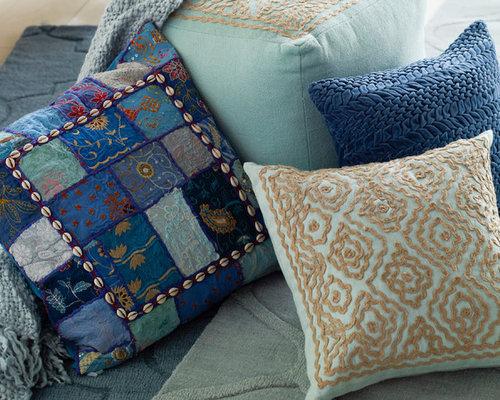 Blue Accents - Decorative Pillows