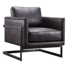 Luxe Club Chair, Black