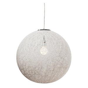 """String Pendant Lamp, White, 24"""""""