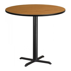 Flash Furniture 42'' Round Natural Laminate Bar Table by Flash Furniture