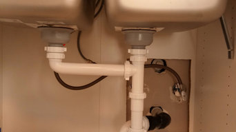 Kitchen sink drain assembly