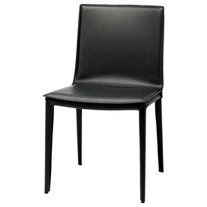 Palma Dining Chair, Matte Black