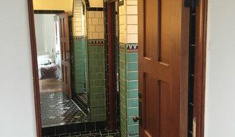 Hollywood Hills Custom Tile Master Bathroom