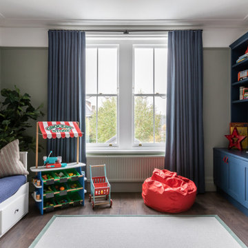 Playroom with bespoke joinery