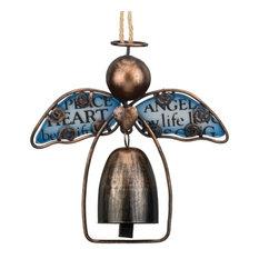 Regal Sentiment Angel Bell, Blue