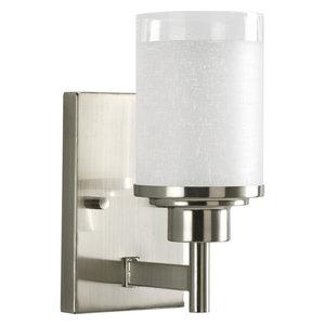Progress Lighting 1-100W Medium Bath Brkt, Brushed Nickel