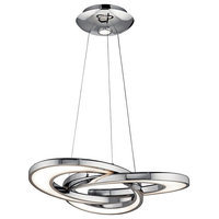 elan Destiny LED Chandelier/Pendant 83619 - Chrome