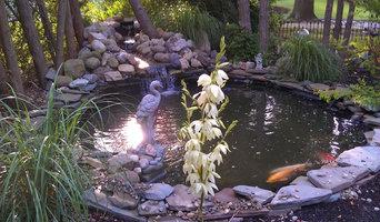 First Koi Pond