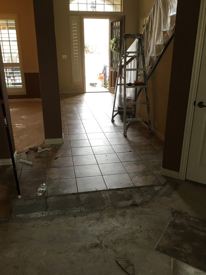 "6""1/2"" wood flooring In Walsh Ranch  03-11-17"