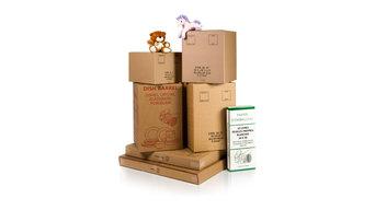 Moving Boxes-Photo Shoot