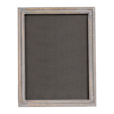 Wooden Picture Frame, Grey, 15x20 cm