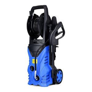 Electric High Pressure Washer Power Pressure Washer Machine, Wash Brush, Blue