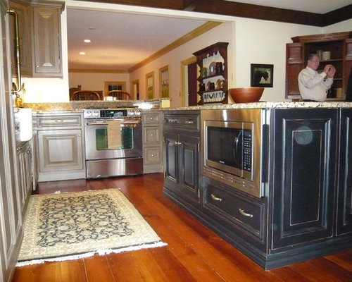 Gorgeous Kitchen Renovation In Potomac Maryland: Kitchen Islands