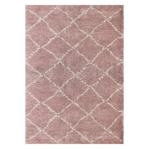 Nomad Children's Rug, Pink, 120x170 cm
