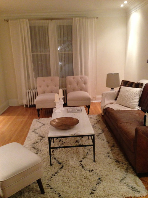 Empty Space In Living Room