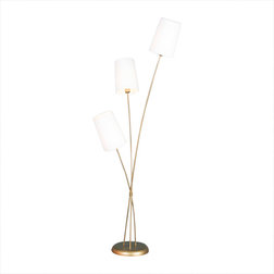 Transitional Floor Lamps by BELSSIA